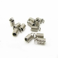 For 2mm Cords White Gold Plated Cord Spring Snap Hook,Jewellery Connector Findings Free Shipping 1000pcs/lot AF004
