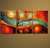Free Shipping Worldwide Via DHL or EMS!!  Handmade  Canvas   Oil  Painting Wall Art  On Canvas !! JYJLV014