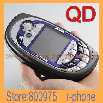 N-Gage QD US Version ( RH-47)  EURO Version (RH-29) Original Nokia N-Gage QD Game Mobile Phone + Gift