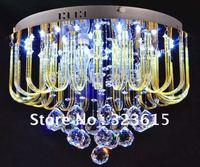 Modern Minimalist K9 Crystal Ceiling Lamp Crystal Chandelier Lights Room Bedroom Dia 450mm