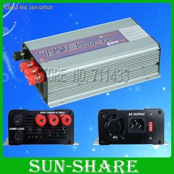 free shipping! 600w  grid tie solar Micro pure sine wave inverters input  DC10.8V-30V /DC 22V-60V,output.AC 90V-140V,190V-260V