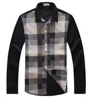 Мужская повседневная рубашка slim fit /m/l/xl/xxl M01