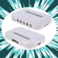 NBOX HDTV HD Media TV Player RM RMVB DivX HDD SD USB HD White