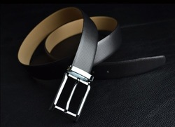[Free shipping ]Hot sale Imoprted Cowhide Leather Belt ,Fashion Desinger Men&#39;s Belt(China (Mainland))