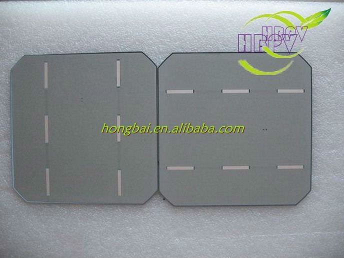 156mm Monocrystalline Solar Cell 156x156(China (Mainland))