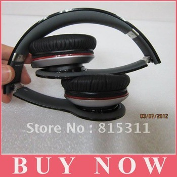 EMS DHL Free shipping  hd headset white black red purple peach green darkblue skyblue hd headphone