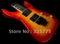 Custom SL2H-V Soloist Guitar Trans Burnt Cherry Burst Free Shipping