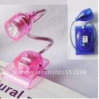 Flexible LED Book Light Clip Book Lamp Reading Table Light Energy Saving Portable Mini Cute Colourful Hot Free Shipping 250 pcs