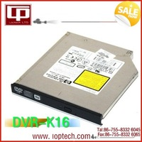 Brand New 1Pcs/Lot Hot Sale 12.7mm IDE Drive dvr-k16 DVD Write Laptop Optical Disc Drive /DVD Burner Drive 100% Tested