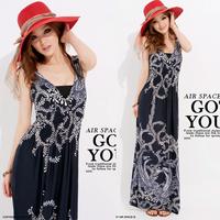 2014 women dresses spring print bohemia style full one-piece dress beach dress free shipping