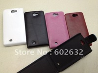 1pcs free shipping Glossy Flip leather case For Samsung Galaxy Note 2 3G 4G LTE N7100 +1pcs screen protect