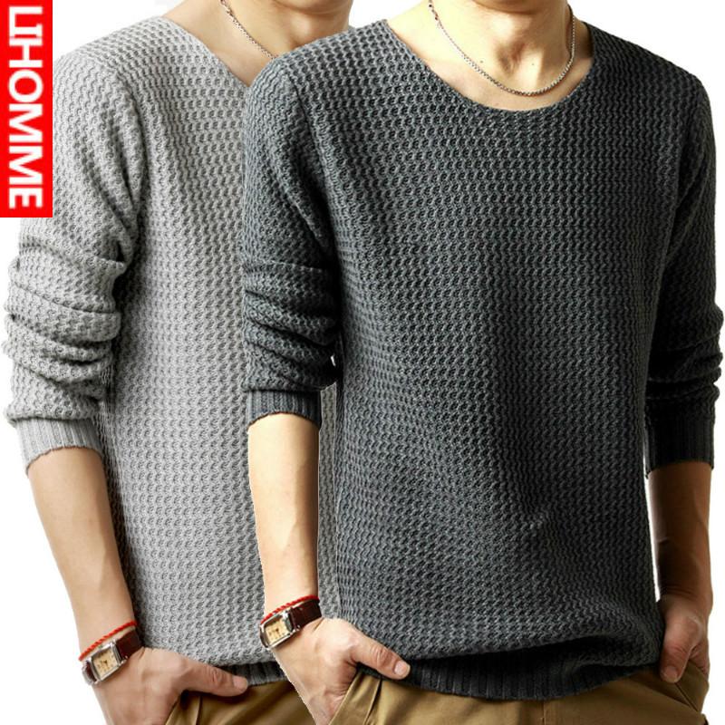 Как связать модный свитер для мужчины