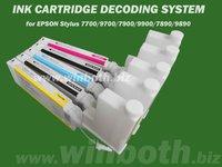 Ink Cartridge Decoding System for Epson stylus 7700 / 9700 printer