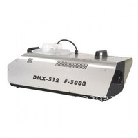 Remote Control 3000W Low Fog machine, Dmx 512 Smoke machine