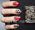New 10 Sheets(160 pcs) 3D stereoscopic Crystal convenient nail polish diamond stickers nail metal decals nail sticker
