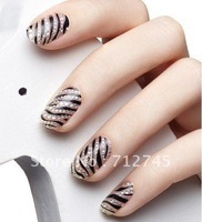 50 Sheets(800 pcs)16 pcs/sheet 3D three-dimensional crystal convenient nail polish diamond stickers nail metal decals