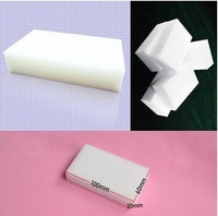 Free Shipping 100pcs/lot 100x60x20mm Magic Sponge Eraser Melamine Cleaner,multi-functional Cleaning (no package)