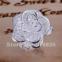 SIZE 8# Free Shipping 925 sterling silver ring 925 ring silver ring silver Fashion jewelry  auza jmga sdpa LQ-R116