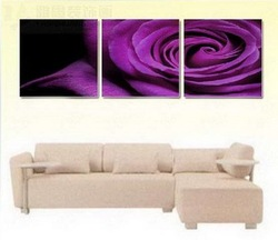 oil painting on canvas art home decoration modern abstract wall art oil paintings rose FLOWERS frameless living room A347(China (Mainland))