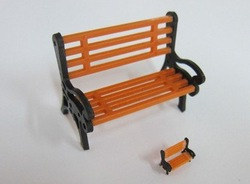 park chair 1/50 for architectural model materials(China (Mainland))