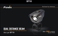 Free shipping FENIX BT10 350 LUMEN Dual Distance Beam Bike Light