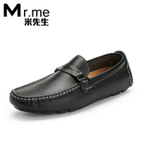 Mr . me2012 male gommini loafers leather shoes men fashion casual shoes shoes lazy boat shoes