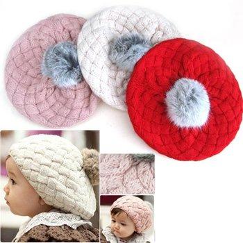 Cute Baby Toddler Infant Knit Crochet Beanie Winter Warm Hat Cap Kids Girl Child[240821]