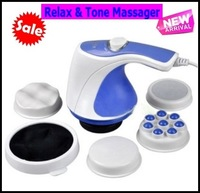 Professional Body Massager with 5 Kneading Heads in One Package, 7-30 Days Arrive, 1 Lot = 2pcs Free Shipping