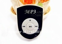 Free shipping 5 Colors Fashion Shield shape Clip MP3 Player ,Support TF Card Expansion,wholesale 20pcs/lot!