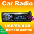 Great quality Car Radio FM MP3 player with USB SD slot Remote control