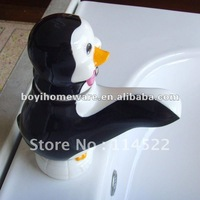 penuins tap animal faucet kitchen faucet kitchen ware kitchen tap  24sets/lot wholesale&retail shipping discount 9132W