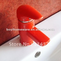 red colored ceramic tap antique kitchen faucet unique kitchen faucet kitchen sink faucet  24sets/lot wholesale&retail B0125