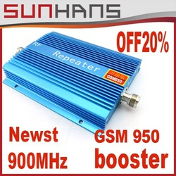 Direct Marketing sunhans GSM 950 +900Mhz +500square GSM booster signal booster repeater Free shipping(China (Mainland))
