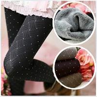 women winter tights/women warm legging/Bamboo fiber/fur legging ,free shipping AEP07-G1780