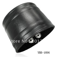 Wholesale Fashion leather cuff Mens Bracelet
