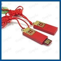 Free shipping  MOQ just 1pc  China style red color USB flash drive memory stick 2gb/4gb/8gb/16gb/32gb