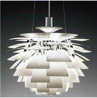 Best selling Wholesale Louis Poulsen PH Artichoke Lamp White Denmark Modern Suspension Pendant Light