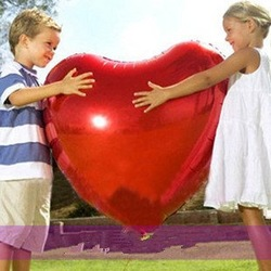 Hotselling 30inch Heart Shape Balloons&Wedding Decoration Foil Balloons 100% Good Quality(China (Mainland))