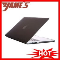 Gray Rubberized Back Case Cover Housing For Macbook Pro 15.4 inches A1398 With Retina Display