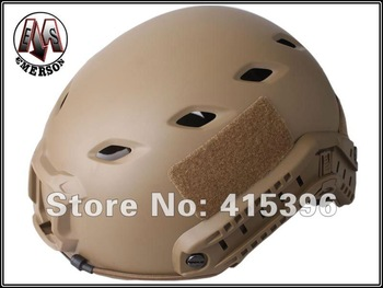 EMERSON OPS-CORE FAST Base Jump Helmet-BJ TYPE/Tactical helmet(Dark Earth) -Free Shipping