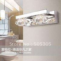 Factory price whoelsales Modern Crystal wall lamp For Bathroom, Living Room, Saloon, etc.(Chrome Color)ETL2022
