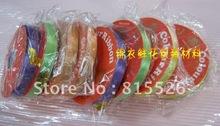 free shipping The reserve price 1.2CM narrow ribbon tape wedding celebration knot florist supplies(China (Mainland))