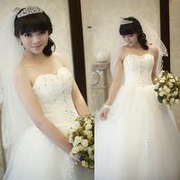 Luxury wedding dress elegant bride wedding princess classic