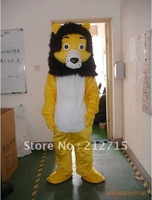New Arrival the Lion Mascot Costume New  Lion Fancy Dress Animal Mascot Costume Free Shipping