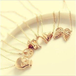 W516 short design gold necklace accessories 2012 jewelry fashion personality female chain(China (Mainland))