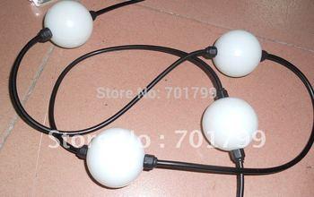 360degree emitting 50mm diameter full color ball type led pixel module, pixel node,DC12V input,3pcs 5050 RGB+TM1804IC