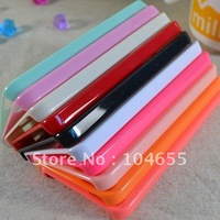 Free Shipping 13 Colors PC Case Sweet Candy Color Hard Plastic Back Cover Case for iphone 5 5G 50pcs/lot