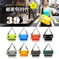VANCL multi-colored stunning messenger bag one shoulder cross-body casual male women's handbag
