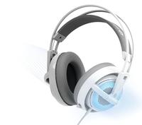 New freeshipping Siberia steelseries siberia v2 full-size blue earphones
