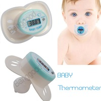 2pcs/lots New Nipple Thermometer, LCD Digital Infant Baby Temperature  Convenient Accurate Free Shipping